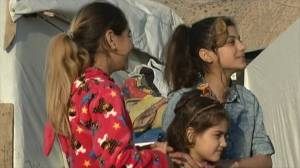 Yazidi sisters reunited three years after IS kidnapping