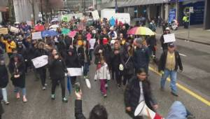 March for Our Lives Vancouver