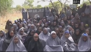 Nigeria kidnapped girls shown in new Boko Haram video