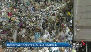 Showdown brewing between Toronto, Keurig over pod recyclability