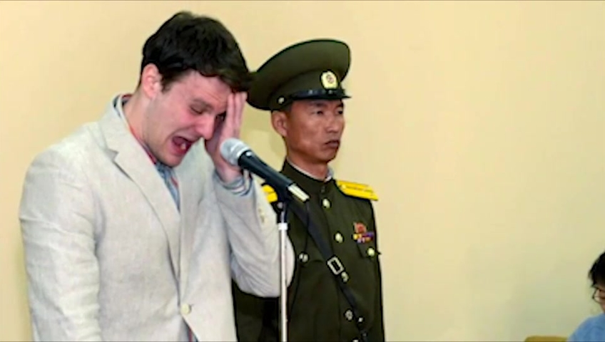 No money paid to North Korea for USA student Otto Warmbier