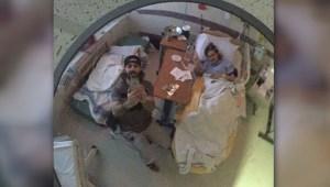 Mathieu Perrault grateful for care at St.Boniface hospital