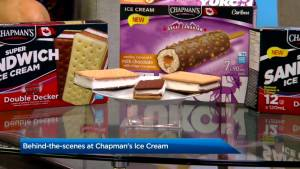 How Chapman's Ice Cream makes its product