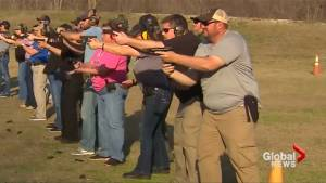 Texas teachers take up firearms training in wake of Parkland shooting