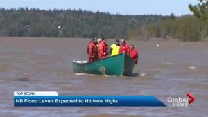 Flood emergency continues in New Brunswick
