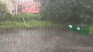 Fredericton rains precede Hurricane Arthur