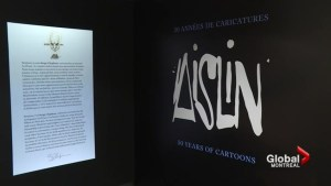 Focus Montreal: Celebrating 50 years of Aislin comics