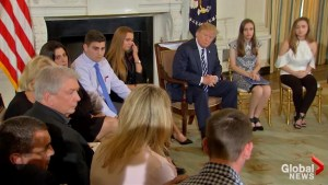 Trump continues 'listening sessions' on school shootings, gun control laws