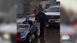 Fort McMurray mom talks about cop giving her 3-year-old boy a ticket
