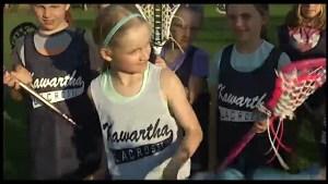 Kawartha U11 lacrosse squad doubles in size