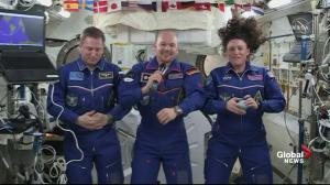 ISS crew on what they miss most on Earth during their stay in space