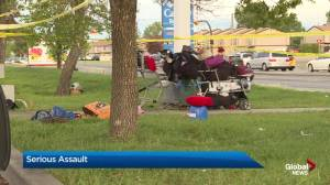 Victim of serious assault found in northeast Calgary parking lot