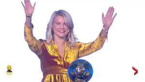 Twerking overshadows Hegerberg win at Ballon d'Or