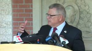 Goodale explains role of Canadian Forces air assets in combating B.C. wildfires