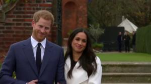Prince Harry, Meghan Markle make first appearance as engaged couple