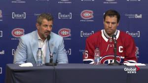 Shea Weber says being named Canadiens captain 'an honour'