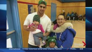 Roughrider Jorgen Hus heads to Nunavut to spread anti-bullying message