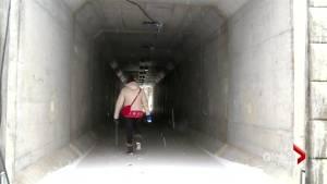 Walking tunnel opens following death of Kingsclear woman