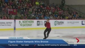 Canada Winter Games: Justin Hampole