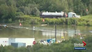 Husky oil spill cleanup continues on Sask. river one year after pipeline leak