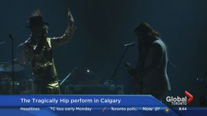 The Tragically Hip perform in Calgary as part of their Man Machine Poem tour