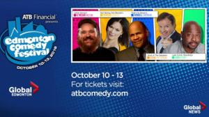 Don't miss out on the laughs this week at the Edmonton Comedy Festival