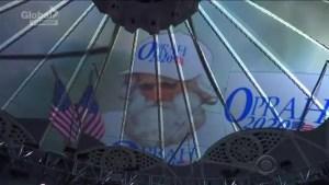 Stephen Colbert asks 'God' to ask Oprah to run for President