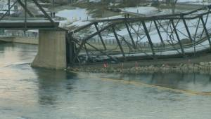 Phase 2 of Saskatoon's historic Traffic Bridge demolition goes out with a bang
