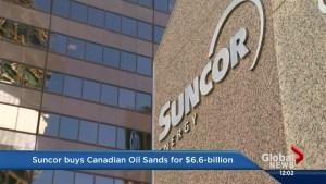 Suncor Energy buys Canadian Oil Sands for $6.6 billion