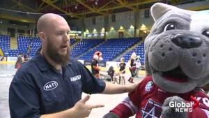 Okanagan Mascot Games kick off in Vernon