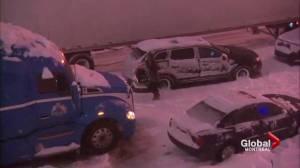 Highway 13 snowstorm report released