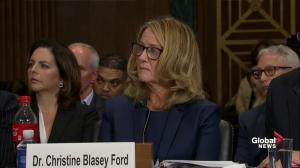 Ford responds to allegation that Kavanaugh's behaviour just 'boys being boys'