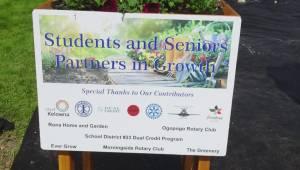 Youth grants encouraging Kelowna students to enhance their neighbourhoods