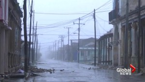 Cuba slammed by Hurricane Irma as storm's eye creeps along northern coast