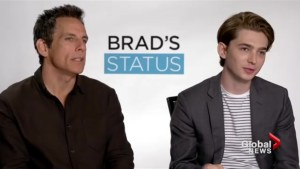 "Ben Stiller on his New Role in ""Brad's Status"""