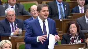 Scheer tells Trudeau: 'Nobody is buying' his excuse on SNC-Lavalin