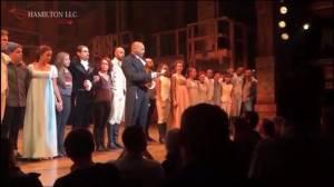 'Hamilton' cast fires back at Donald Trump