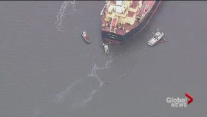 English Bay oil spill review