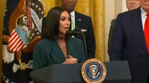 Kim Kardashian returns to White House to boost efforts helping former inmates get jobs out of prison