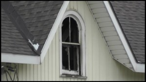 House fire in Burnt River area