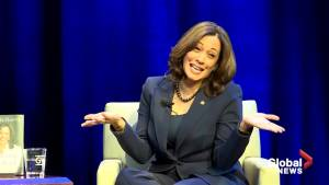 When asked if she'd run for president, Kamala Harris said 'maybe'