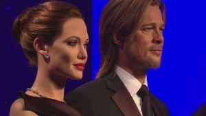 Brad and Angelina wax figures separated at Madame Tussauds