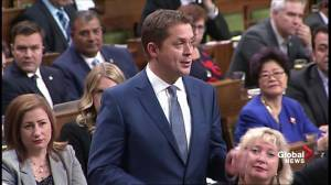 'Where did Canada gain?': Andrew Scheer and Justin Trudeau battle over USMCA