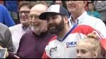 Shawn Evans celebrates sixth Mann Cup lacrosse championship