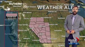 Edmonton Weather Forecast: Aug. 16
