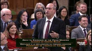 NDP's Guy Caron speaks about closing of Centre Block