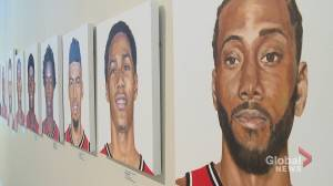Fredericton art gallery honouring Toronto Raptors with unique exhibit