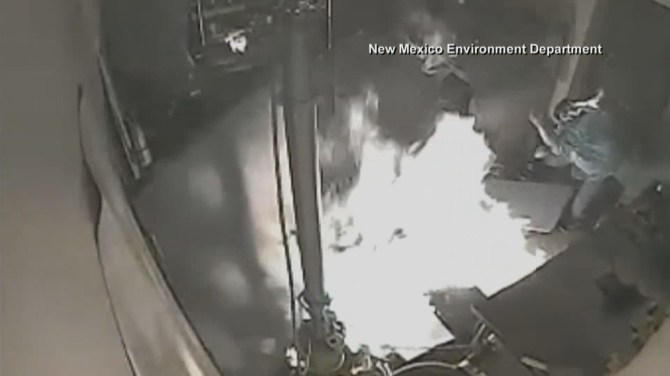 Caught on camera: 2 workers severely burned in marijuana dispensary explosion