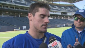 RAW: Blue Bombers Ian Wild – Oct. 18