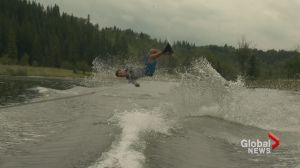 Son of water ski legend Jaret Llewellyn looks to break his dad's trick record